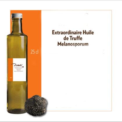 Merveilleuse huile de truffe