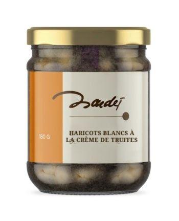 Haricots blancs à la crème de truffe